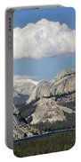 Tenaya Lake From Olmstead Point Portable Battery Charger