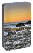 Tessellated Rock Platform And Seascape Portable Battery Charger