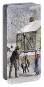 Thanksgiving, 1882 Portable Battery Charger