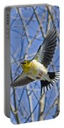 The American Goldfinch In-flight, Portable Battery Charger