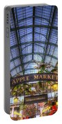 The Apple Market Covent Garden London Portable Battery Charger