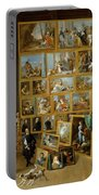 The Art Collection Of Archduke Leopold Wilhelm In Brussels Portable Battery Charger