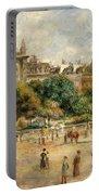 Place De La Trinite, 1893 Portable Battery Charger