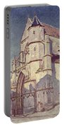 The Church At Moret Portable Battery Charger