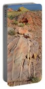The Color Of Valley Of Fire Portable Battery Charger