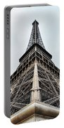 The Eiffel Tower In Paris Portable Battery Charger