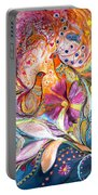 The Flowers Of Sea Portable Battery Charger