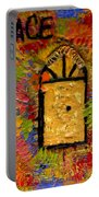 The Golden Door Of Grace Portable Battery Charger