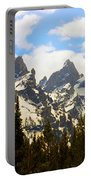 The Grand Tetons Portable Battery Charger