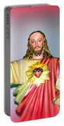 The Hands Of Christ Portable Battery Charger