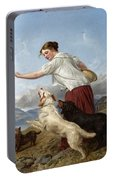 The Highland Lassie Portable Battery Charger