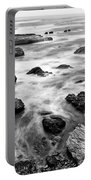 The Jagged Rocks And Cliffs Of Montana De Oro State Park Portable Battery Charger