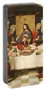 The Last Supper Portable Battery Charger by Master of Portillo