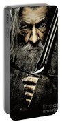 The Leader Of Mankind  - Gandalf / Ian Mckellen Portable Battery Charger