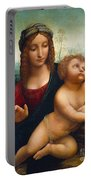 The Madonna Of The Yarnwinder Portable Battery Charger