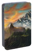 The Majestic Mountain Portable Battery Charger