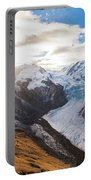 The Monte Rosa Massif In Switzerland Portable Battery Charger