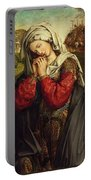 The Mourning Mary Magdalene Portable Battery Charger