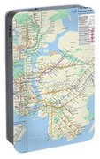 The New York City Pubway Map Portable Battery Charger