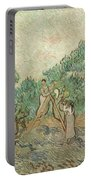 The Olive Orchard, 1889 Portable Battery Charger