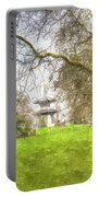 The Pagoda Battersea Park London Art Portable Battery Charger