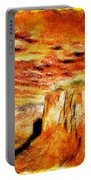 The Painted Desert Portable Battery Charger