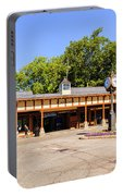 The Railroad Station In Scarsdale Portable Battery Charger