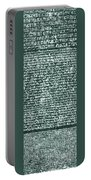 The Rosetta Stone Portable Battery Charger