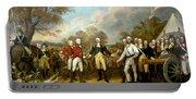 The Surrender Of General Burgoyne Portable Battery Charger