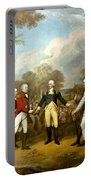 The Surrender Of General Burgoyne Portable Battery Charger by War Is Hell Store