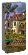 The Venice Canal Historic District Portable Battery Charger