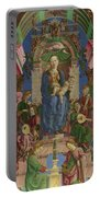 The Virgin And Child Enthroned Portable Battery Charger