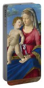 The Virgin And Child Portable Battery Charger