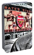 Thierry Henry Statue Emirates Stadium Art Portable Battery Charger