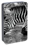 Thirsty Zebras Portable Battery Charger