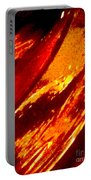 Through A Glass Darkly 1 Abstract Portable Battery Charger
