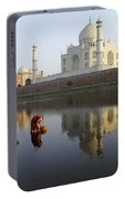 Timeless Taj Mahal Portable Battery Charger