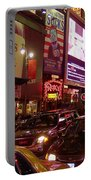 Times Square Night Portable Battery Charger