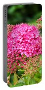 Tiny Pink Spirea Flowers Portable Battery Charger