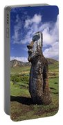 Tongariki Moai On Easter Island Portable Battery Charger