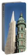 Transamerica Pyramid Building Portable Battery Charger
