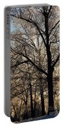 Trees In Ice Series Portable Battery Charger