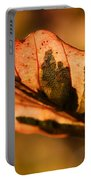 Tri-color Beech In Autumn Portable Battery Charger