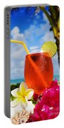 Tropical Cocktail Portable Battery Charger