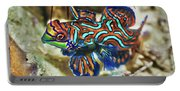 Tropical Fish Mandarinfish Portable Battery Charger