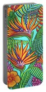 Tropical Gems Portable Battery Charger