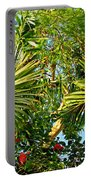 Tropical Plants Portable Battery Charger