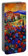 Tuscany Poppies  Portable Battery Charger