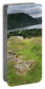 Ullswater Lake From Gowbarrow Fell, Lake District Portable Battery Charger