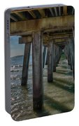 Under The Naples Pier Portable Battery Charger